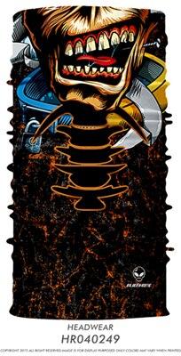 3D Череп Скелет бесшовная Бандана Балаклава головная повязка мотоциклетный головной убор Байкер волшебный платок труба Шея рыболовная вуаль маска для лица - Цвет: TA13