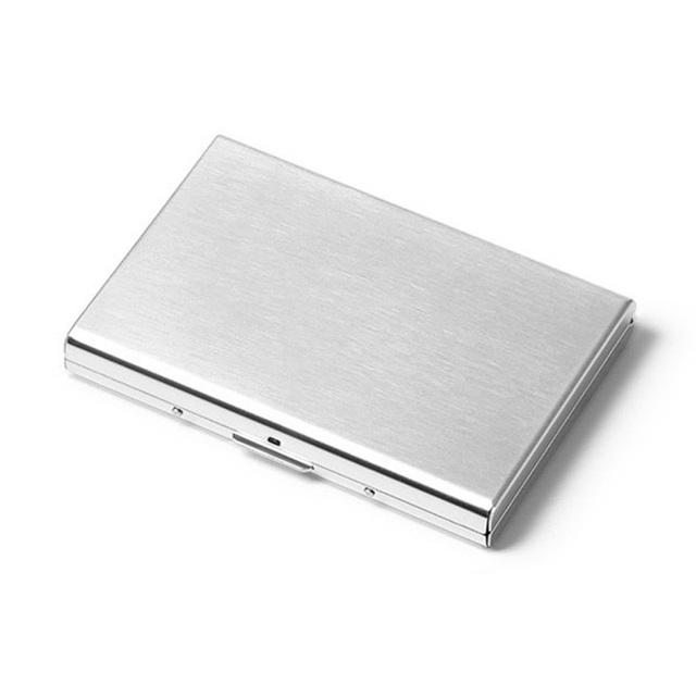 Business Card Case Metal Wallet For Women 6 Sots