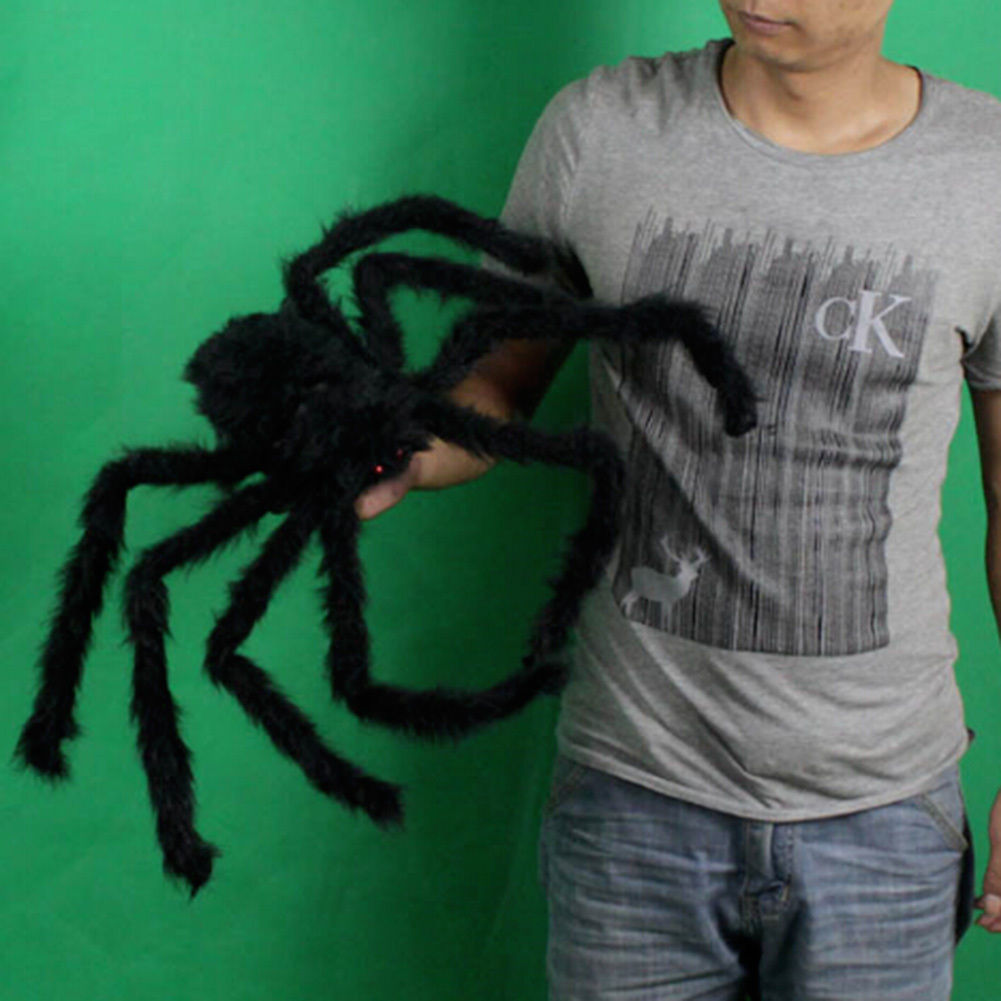 black spider halloween decoration haunted house prop indoor outdoor widechina mainland