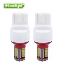 2PCS T20 The car LED bulb turns the light 57SMD 7740 P21/5W  Super Bright white  LED Car Backup Reversing Light Turn Signal Lamp цена