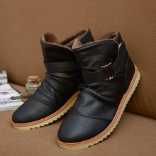 ASDS Winter Warme Casual Leder High TopShoes Stiefeletten