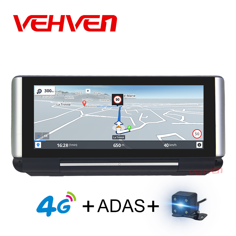 VEHVEN Car DVR GPS Navigation 4G ADAS 6.86 Android 5.1 Car Camera WIFI Video Recorder Registrar dash cam DVR Parking Monitoring