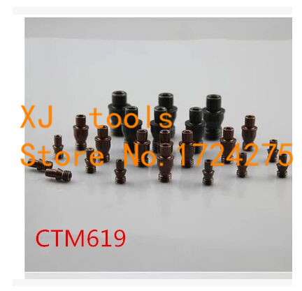 Free Shipping 10pcs CTM619 CNC Turning Tools Center Pin  Turning Tool Holder Accessories