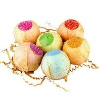 בועת אמבטיה פצצות אורגני מלחי אמבט ספא פילינג מנטה הפגת מתחים כדור בעבודת יד שמן אתרים לבנדר טעם תפוז 5035