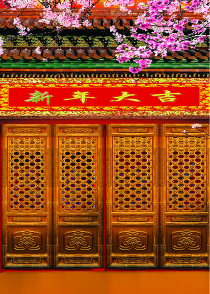 chinese new year photography background flower stor photo props vinyl 5x7ft or 3x5ft for studio backdrops door shengyongbao 300cm 200cm vinyl custom photography backdrops brick wall theme photo studio props photography background brw 12