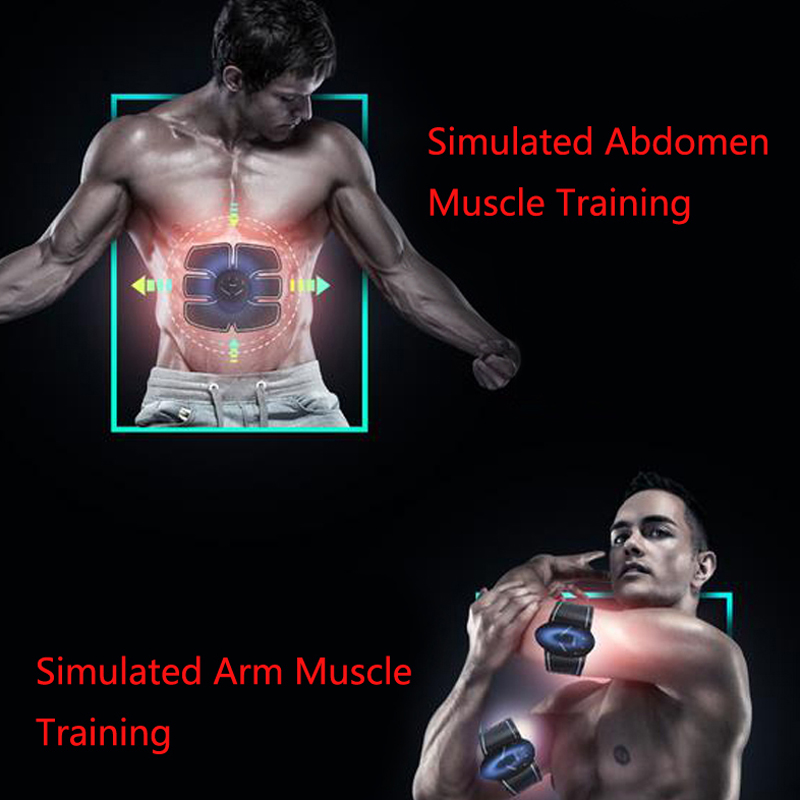 EMS muscle stimulator and body shaping device