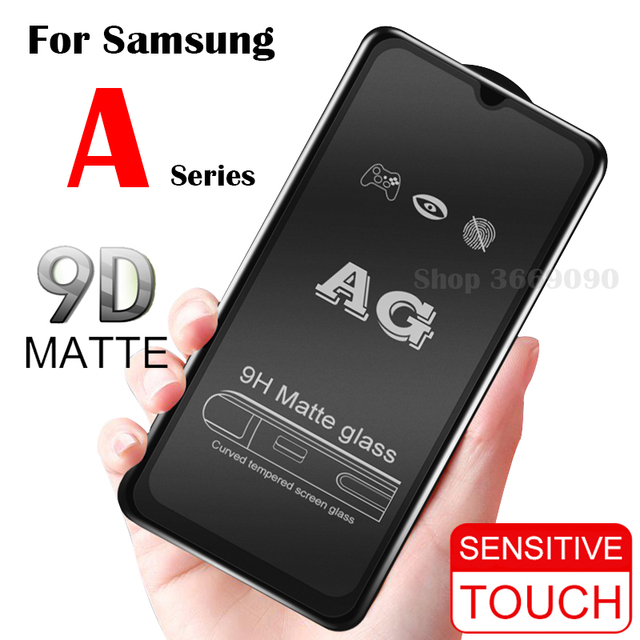 Matte Frosted Protective Glass On The for Samsung A70 Galaxy A50 Tempered Flim A10 A20 A30 A40 Samsong Galexy A 10 40 30 50 70