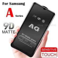 Opaca Glassata della cassa di Vetro di Protezione per per Samsung A70 Galaxy A50 Temperato Flim A10 A20 A30 A40 Samsong Galexy UN 10 40 30 50 70