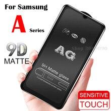 Verre de protection givré mat sur le pour Samsung A70 Galaxy A50 trempé Flim A10 A20 A30 A40 Samsong Galexy A 10 40 30 50 70