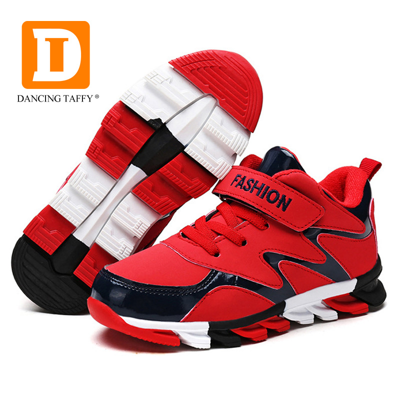 New Winter Children Shoes 2017 Warm Boys Sneakers Girls Sport Shoe Child Leisure Casual Breathable Running Shoes PU Kids Boots 40cpq040 to 247