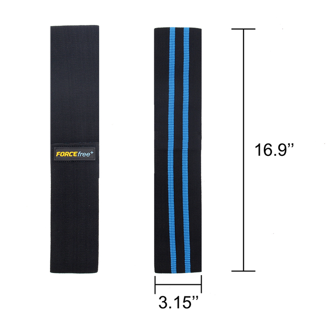 Durable and Comfortable Resistance Loop Bands Made from Polyester and Cotton for Gym Workout