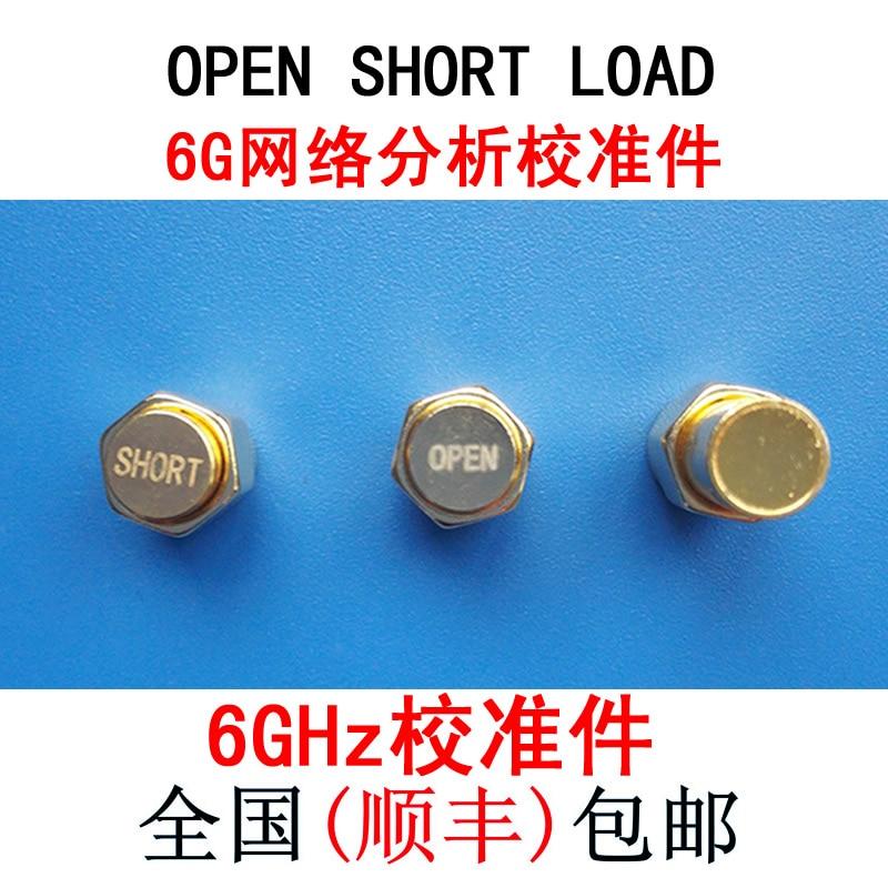 цена на 6G Vector Network Analyzer Calibration Piece, Open Circuit OPEN, Short Circuit SHORT, Load LOAD