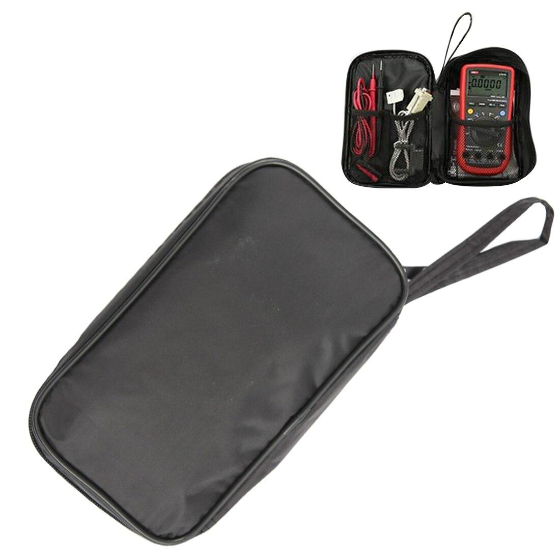 20*12*4cm Waterproof Tools Bag Multimeter Black Canvas Bag For UT61 Series Digital Multimeter Cloth Durable