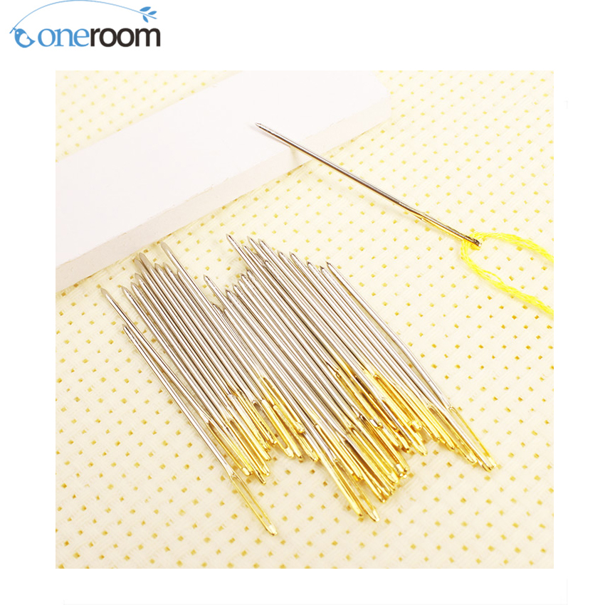 Noneroom Number shop FREE Shipping Top Quality 28# 16CT cross stitch needles, embroidery needles #28, 100pcs/bag