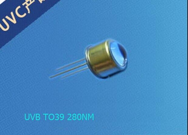 DHL UPS FEDEX TO39 280NM UVB LED Diode photocatalyst light source аксессуары для телефонов senter st 220 dhl ups fedex ems st220