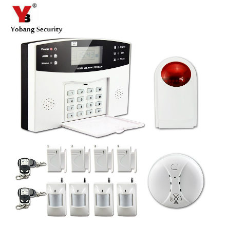 Yobang Security-Home Alarm System Wireless GSM Alarm System Motion Detection Door Sensor Alarm