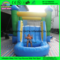 Hot sale commercial cheap inflatable bouncer,jumping bouncy castle with slide with pool