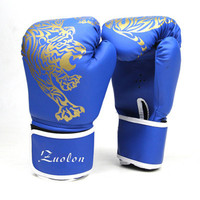 Boxing Gloves Ego Muay Thai Training PU Leather MMA Sparring Punching Bag Mitts kickboxing Fighting