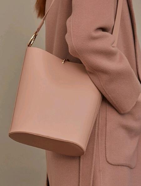 Simple classic euramerican style bucket bag High quality PU leather women shoulder bag women handbag w6985ftf сумка через плечо bucket bag euramerican women leather handbags dx091
