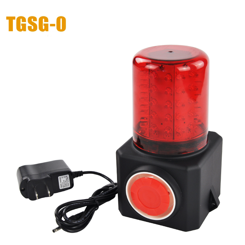 Фотография YS-5209 alarm multi-function sound and light alarm lights can used in outside