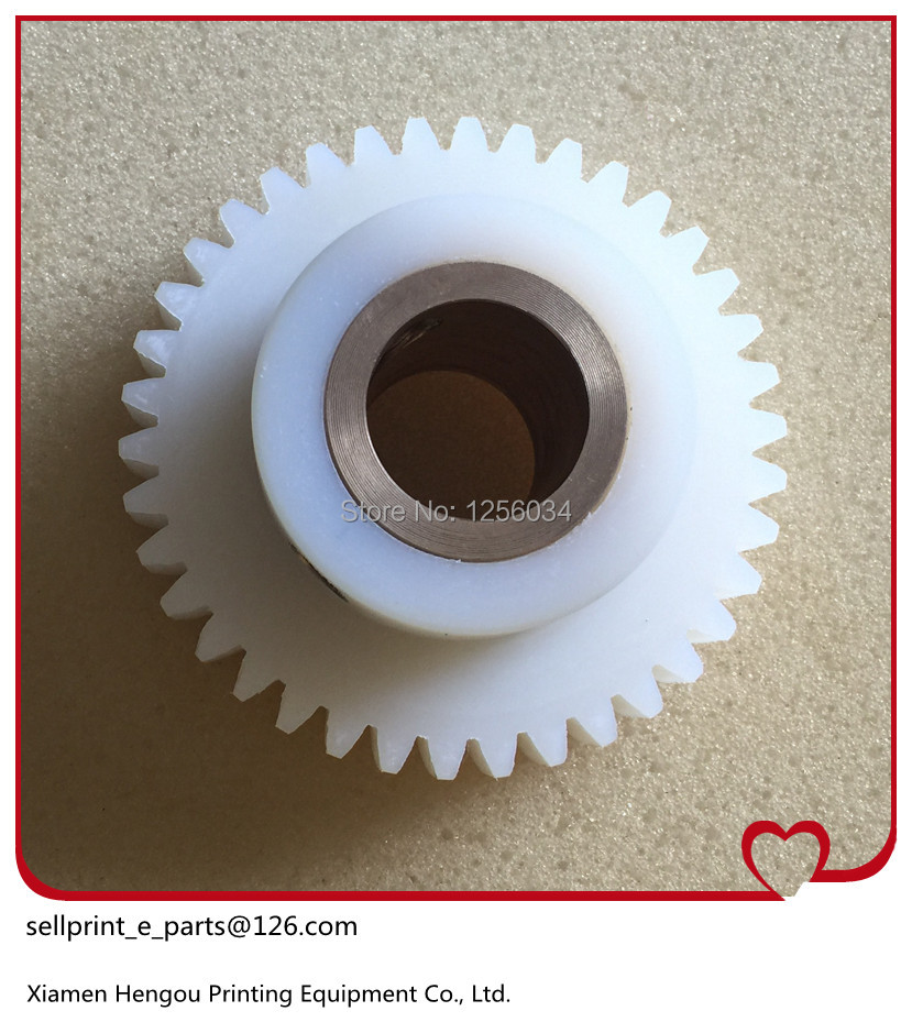 3 pieces Komori printing parts gear, Komori gear, komori printing machine spare parts gear 38 teeth