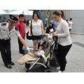 Mykids детская коляска зонт раза poussette Kinderwagen Bebek Arabas Супер легкий Шок Детская коляска Прогулочная Коляска