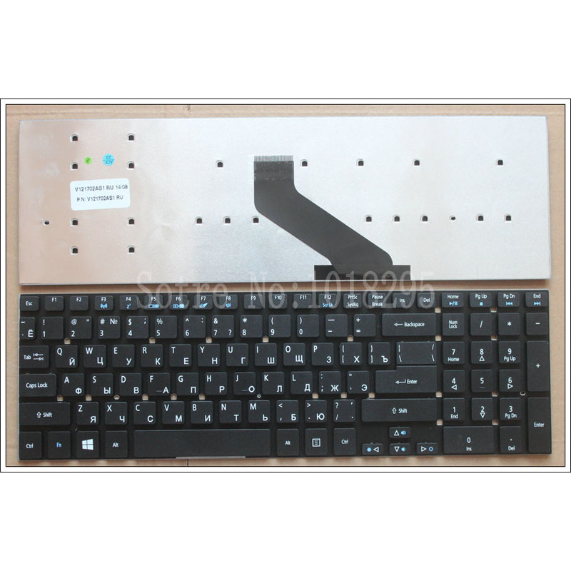 Russian Keyboard for Acer Aspire V3-551 V3-571G V3-551G V3-571 V3-731 V3-771 V3-771G V3-731G MP-10K33SU-6981 RU Laptop Keyboard отсутствует дачный сезон 01 2018