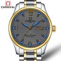 T25 часы с Тритиевой подсветкой Для мужчин карнавальный костюм Для мужчин s лучший бренд класса люкс автоматические механические часы Бизнес