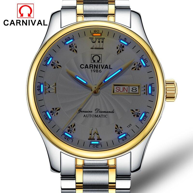T25 Tritium montre hommes carnaval hommes Top marque de luxe automatique mécanique montres d'affaires montre-bracelet horloge relogio masculino