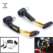 "7/8"" 22mm CNC Motorcycle Proguard System Brake Clutch Levers Protect Guard For Suzuki gsf 600 bandit gs1000 gs500e gs 500 e"