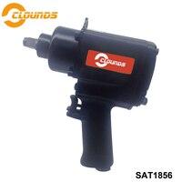 SAT1856 Pneumatic Car Truck Tools Pneumatic 1/2 Twin Hammer Gun Air Tool for Compressor High Torque Square Drive