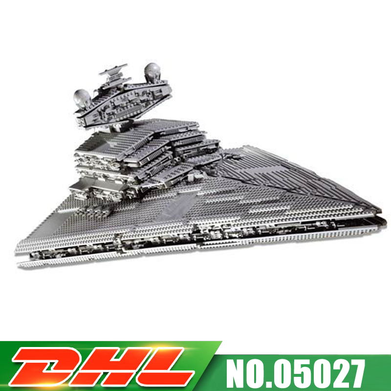 Fit For 10030 LEPIN 05027 3250Pcs New UCS Imperial Star Destroyer Model Kits Building Blocks Bricks Assembling Gift Toy new lepin 05027 3250pcs star wars imperial star destroyer model building kit blocks bricks educational compatible legoed 10030