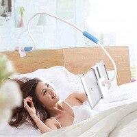 Universal Detachable Long Arm Cell Phone Clip Holder Gooseneck Lazy Tablet Mobile Phone Holder Bedside Bed