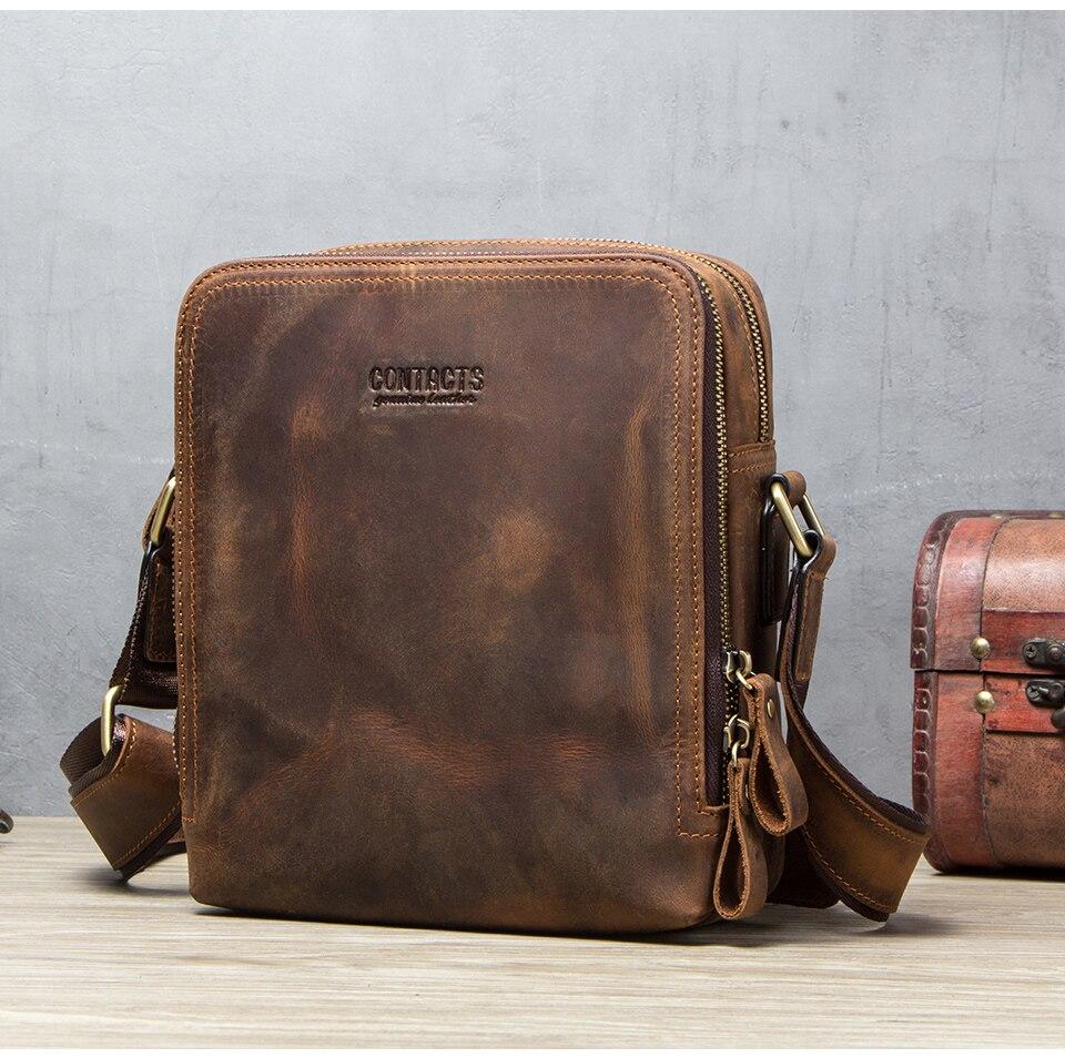 1123c60b18 Details about 2019 New Fashion Men Bags Men's Shoulder Bag Famous Brand  Design