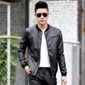 Free shipping 2016 new fashion autumn winter mens leather jacket motorcycle jacket men coats leather jackets men