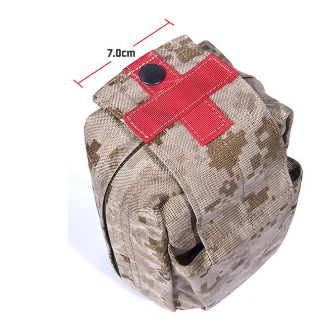 FLYYE SpecOps Modular Series Of Small Trauma Medical Kits Molle Thin Utility Pouch CORDURA PH-C025