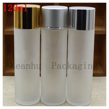 Frosting lotion bottle of 120 ml of Pure dew Skin Moisture Skin Care Cosmetics Packaging Container Frosted Glass on The Spot
