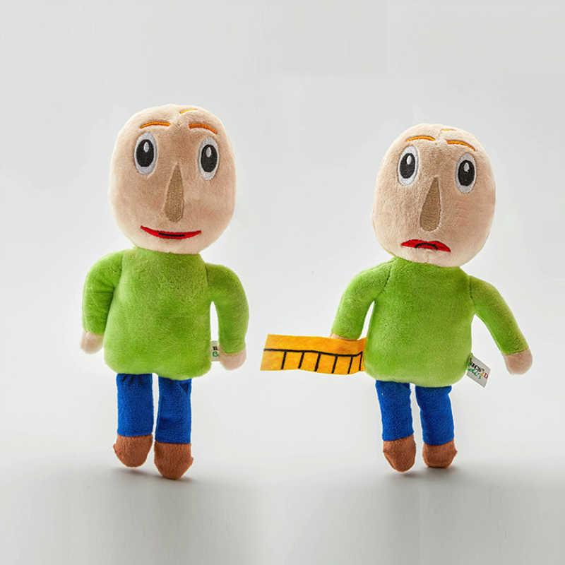 25 cm Baldi's basics in onderwijs en leren geïnspireerd pluche Math Horror Game Markiplier Baldi Pluche Figuur Speelgoed Gevulde pop