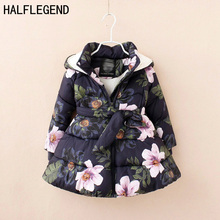 Girls winter coat Children #8217 s Parkas Winter Jackets for girls Clothing for girls jacket Clothes for baby girls kids 6-7-8-9Years cheap Outerwear Coats Down Parkas Spray-bonded Wadding European and American Style 720g REGULAR WT138 NYLON Polyester COTTON