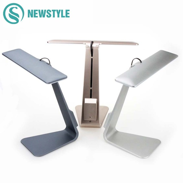 2.5W 250LM Ultra-Thin LED Table Lamp Smart Touch Led Desk Light Eyes Protective Folding Night Light Reading Lamp for Bedroom