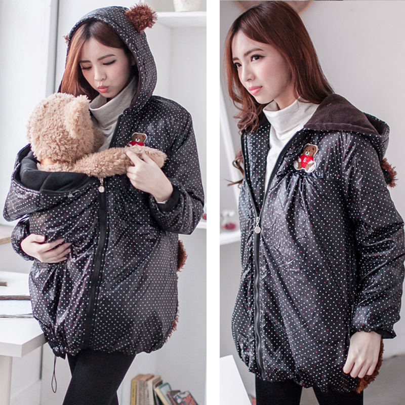 Fashion Cute Maternity Coat thicken Warming cotton...