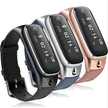 M6 смарт-браслет + Bluetooth наушники 2 в 1 Функция сна Фитнес трекер Браслет SmartBand браслет для Android IOS Телефон