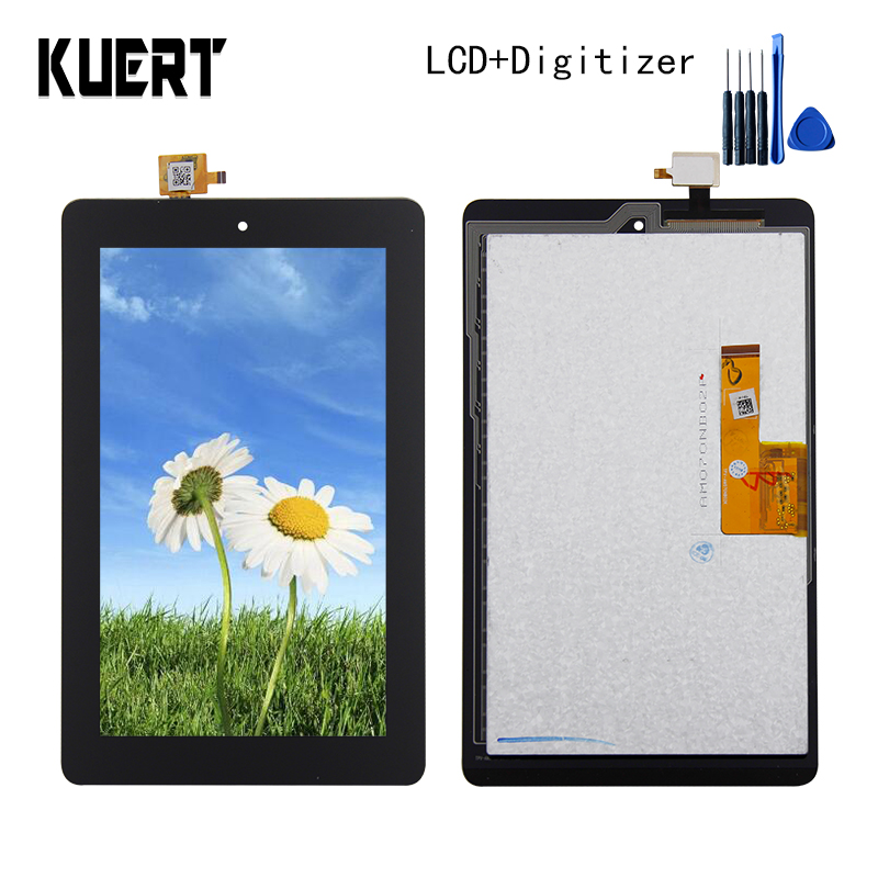 Panel LCD Combo Touch Screen Digitizer Glass LCD Display Assembly For Amazon Kindle Fire 2015 HD 5 HD5 Accessories Repair Parts free shipping for kindle fire hdx 8 9 lcd display screen digitizer 100