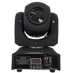Gorąca sprzedaż Mini Spot 30W lampa led z ruchomą głowicą z płytą gobo i miseczka do mieszania farby  wysoka jasność 30W Mini lampa led z ruchomą głowicą DMX512