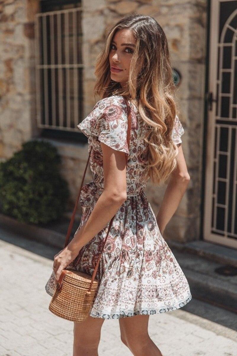 21 vieunsta vintage floral imprimir praia vestido de verão das mulheres novas com decote em v plissado uma linha de mini vestido elegante vestido plissado vestido de verão cinto - HTB1HmTNaOzxK1Rjy1zkq6yHrVXaT - VIEUNSTA Vintage Floral Imprimir Praia Vestido de Verão Das Mulheres Novas Com Decote Em V Plissado Uma Linha de Mini Vestido Elegante Vestido Plissado Vestido de Verão Cinto