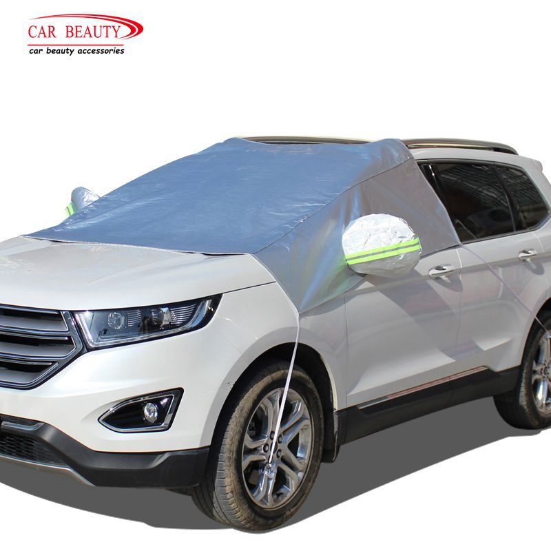 PEVA Car Windshield Snow and Sunlight Cover Auto Front Windscreen Dust Sun Shade UV Protection Sunshade Sunlight Blocker