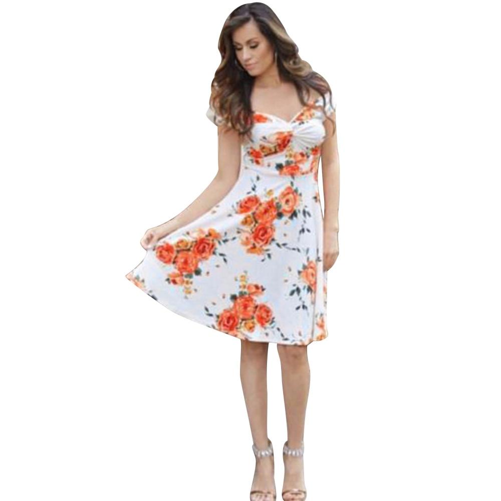 femme vetement elegant floral dress outfits mom lady flower sleeveless bohemian vestiti donna clothes dresses clothing