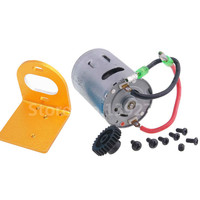 RC Car WLtoys Upgrade Parts 540 Motor Kit Mount Electric Engine Motor Gear 27T For 1