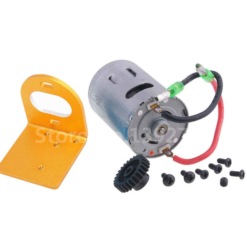RC Car WLtoys Upgrade Parts 540 Motor Kit & Mount Electric Engine Motor Gear 27T For 1/18 Scale Model A949 A959 A969 A979 K929