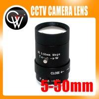 MP HD 5 50mm CS LENS 1 2 IR CS Mount Varifocal Manual Iris CCTV Lens